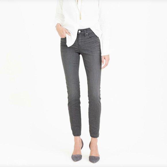 J. Crew Grey Toothpick Jeans